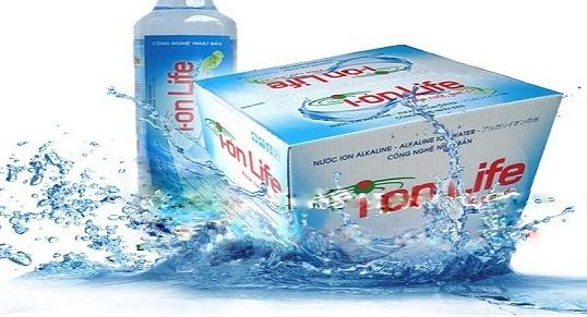Nước suối ion life quận Gò Vấp | Nước ion life quận Gò Vấp