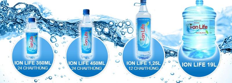 Đại lý nước suối ION LIFE – Tphcm giao tận nhà