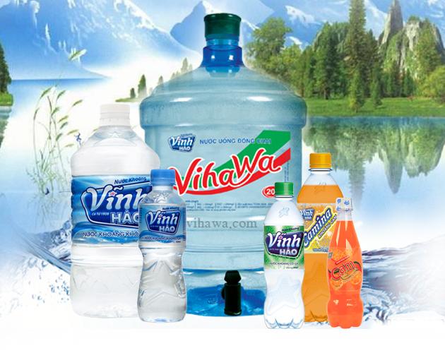 Đại lý nước uống Vĩnh Hảo tại quận Bình Tân có các khoáng chất cần thiết