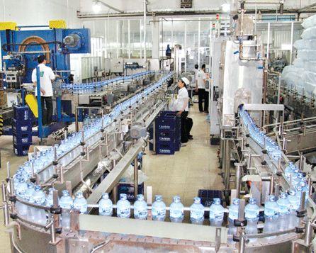 Nhận sản xuất gia công nước uống đóng chai