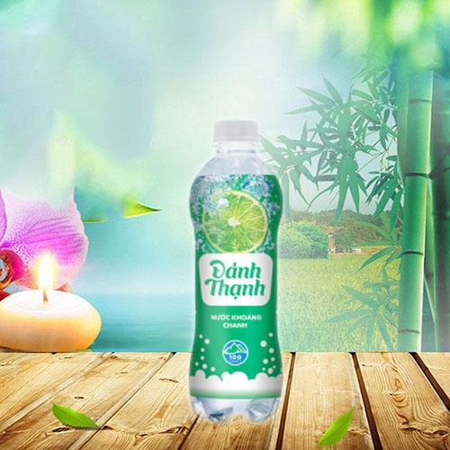 Nước khoáng đảnh thạnh hương chanh chai nhựa