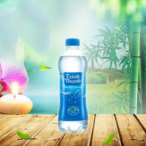 Nước khoáng đảnh thạnh lạt chai nhựa