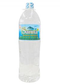 Nước suối đóng chai gia rẻ - Hãy dùng Sanna