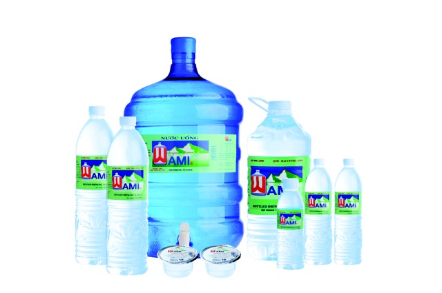 Nước uống wami quận 3