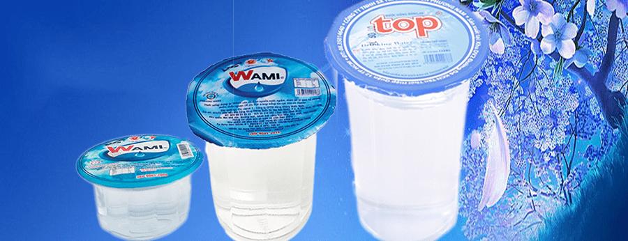 Đại lý nước suối chén nhỏ - Nước suối ly đem đến tận nhà