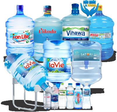 Đại lý nước uống đóng bình đóng chai quận 3