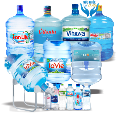 Đại lý nước uống đóng bình đóng chai quận Bình Thạnh