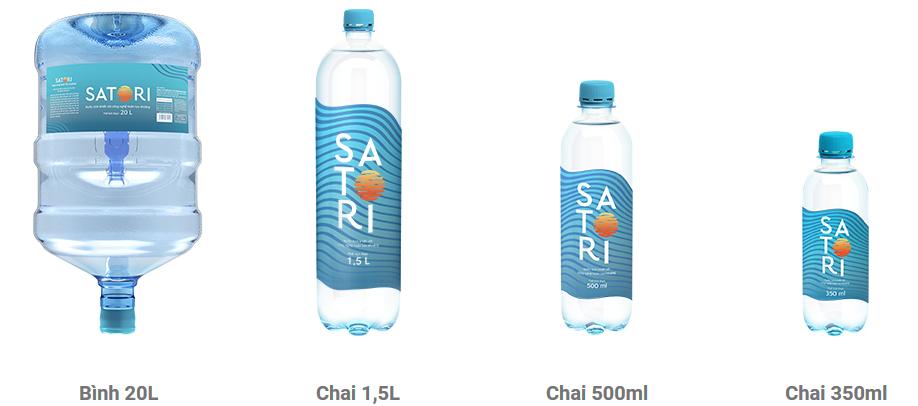 Đại lý nước uống Satori quận 3, Phục vụ tận nơi nhanh miễn phí