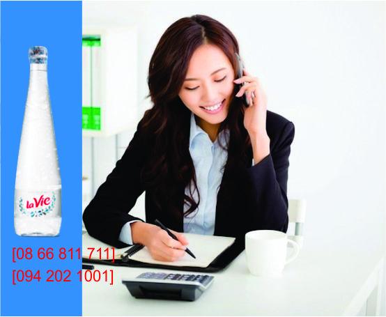 Đại lý phân phối nước khoáng LaVie Premium