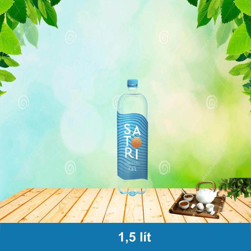 Nước Satori 1.5L, Thùng nước suối Satori 1.5 Lít
