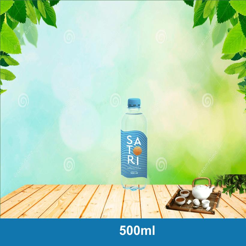 Nước Satori 500ml, Thùng nước suối Satori 500ml