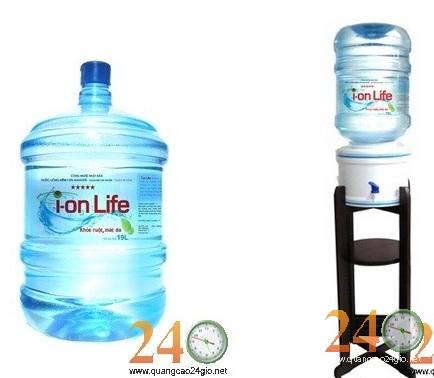 Nước uống ion life: Giao hàng nhất nhất tất cả các quận TPHCM